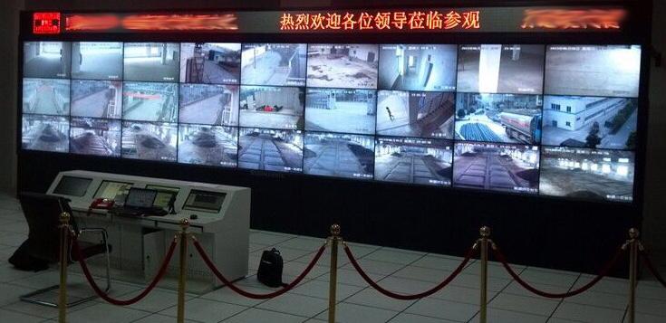 商钼矿业集团大型LED拼接屏万博手机版系统安装